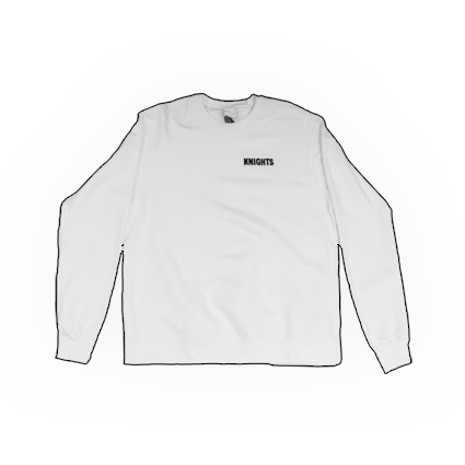 Pittsburgh Knights White Embroidered Crewneck Featured Product